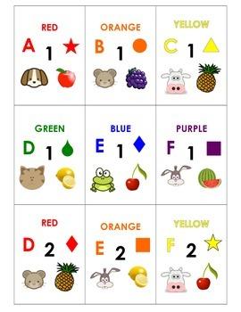 Random Group Generator Card Set - 6 Groups of 6