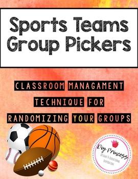 Random Grouping (Sports Teams Group Sorting)