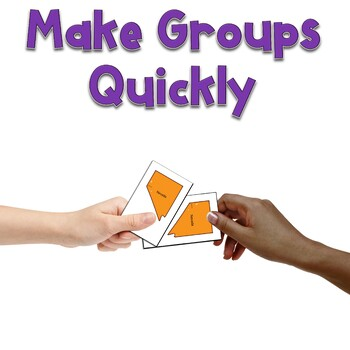 Partner Cards for Random Grouping
