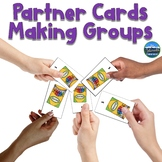 Partner Cards for Making Groups