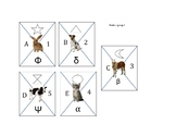Random Grouping Cards System- Up to 25 students and 5 tables