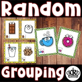 Random Grouping Cards to Make Pairs or Groups