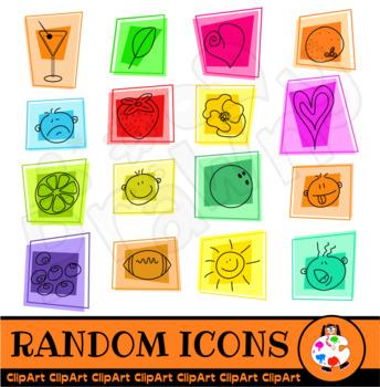 Random Icon Clip Art