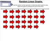 Random Linear Graph Smartboard Tool