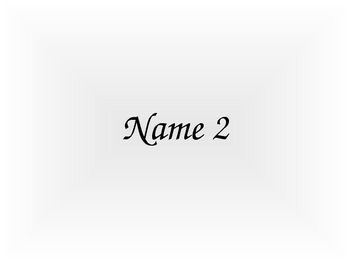 Random Name Chooser