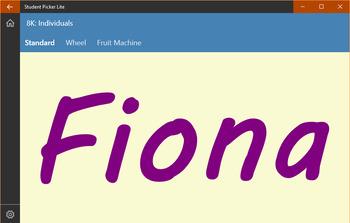Random Name Picker / Generator - Windows Application