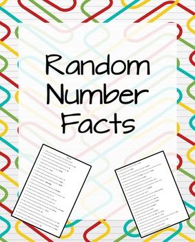 Random Number Facts