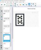 Random Number Letter Deck of Cards Birthday Generator SMAR