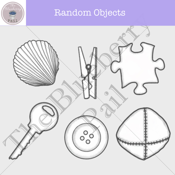 Free Random Objects Clip Art Set