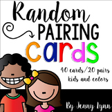 Partner Cards with Kids and Colors