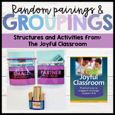 Random Pairing and Grouping Activities and Structures - Th