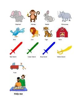 Random Picture Icons (PECS-like)