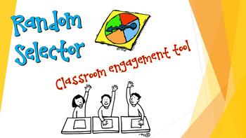 Interactive Random Selector App - Kagan Aligned Engagement Tool