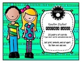 Random Student Partner Cards - (pair up students quickly)