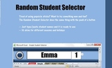 Random Student Selector Excel File