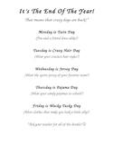 Random classroom management stuff