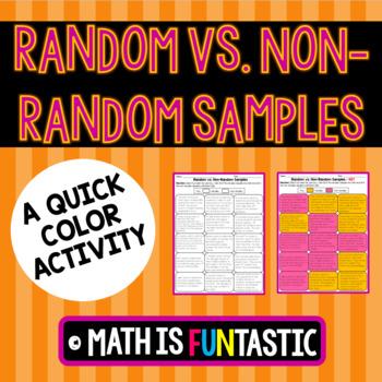 Random vs. Non-Random Samples Quick Color