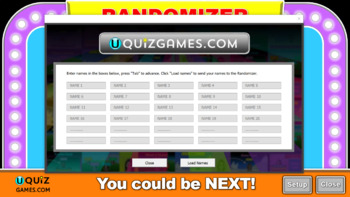 Randomizer class tool