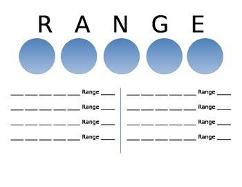"""Range"" CCSS Math Station"