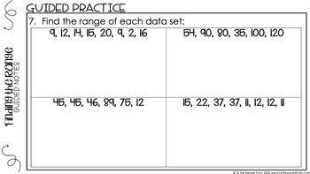 Range Digital Math Notes