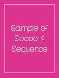 Range Ecology & Management Scope & Sequence 2017 - 2018