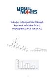 Range, Interquartile Range, Box and Whisker Plots, Histograms and Dot Plots