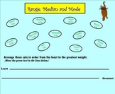 Range Mean Median and Mode for Kids!