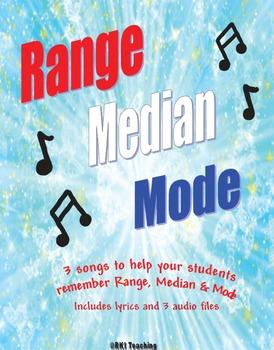 Range, Median & Mode Songs