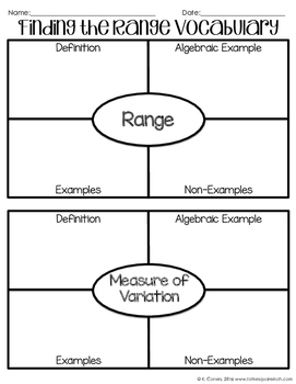 Range Notes