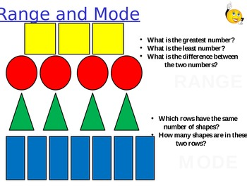 Range and Mode