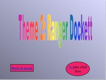 Ranger Docket Jeopardy Game HM (Theme 2)
