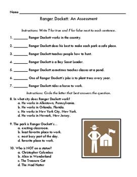 Ranger Dockett Assessment