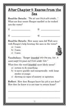 Ranger in Time #7: D-Day: Battle on the Beach (Kate Messner) Novel Study