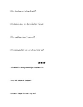 Ranger in Time D-Day: Battle on the Beach COMPREHENSION QUESTIONS