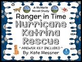 Ranger in Time: Hurricane Katrina Rescue (Kate Messner) Novel Study  (32 pages)