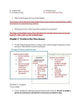 Ranger in Time: Rescue on the Oregon Trail Book Study/Guided Reading Packet