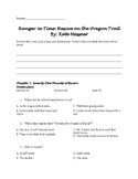 Ranger in Time: Rescue on the Oregon Trail Book Study/Guid