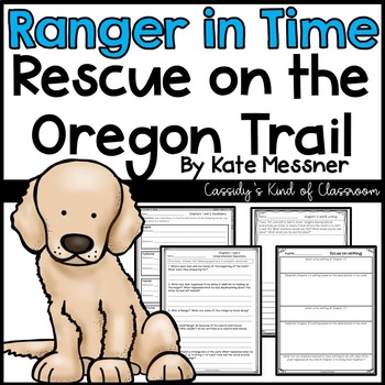 Ranger in Time Rescue on the Oregon Trail Novel Study