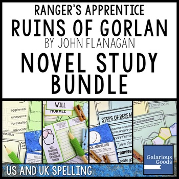 Ranger's Apprentice - The Ruins of Gorlan - Novel Study Bundle