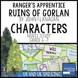 Ranger's Apprentice - The Ruins of Gorlan Characters