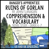 Ranger's Apprentice - The Ruins of Gorlan Comprehension and Vocabulary
