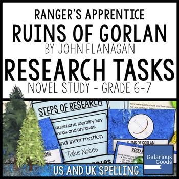 Ranger's Apprentice - The Ruins of Gorlan Research Tasks