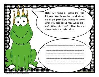 Ranita the Frog Princess - 4th Grade -  Tri folds + Activities