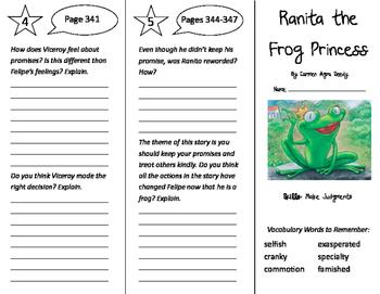 Ranita the Frog Princess Trifold - California Treasures 4t