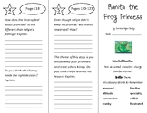 Ranita the Frog Princess Trifold - Wonders 4th Grade Unit 2 Week 2