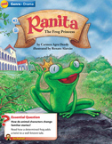 Ranita the Frog Princess Trifold - Wonders Fourth Grade/ S