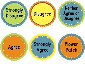 Rank These Statements (How Do Our Students Really Feel?) (Flower Statements)