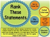 Rank These Statements (How Do Our Students Really Feel?) (