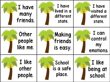 Rank These Statements (How Do Our Students Really Feel?) (Banana Statements)