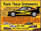 Rank These Statements (How Do Our Students Really Feel?) (Statements Cars)